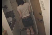 【リアル自宅】自宅でハメ撮りさせてくれたEカップM女OL百合美ちゃん