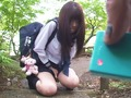 (無料)【美少女】セーラー服限定サポ!飛びっこ羞恥散歩からの中出し!